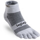 Injinji Run Mini-Crew Xtralife - Calcetines Running Hombre - gris